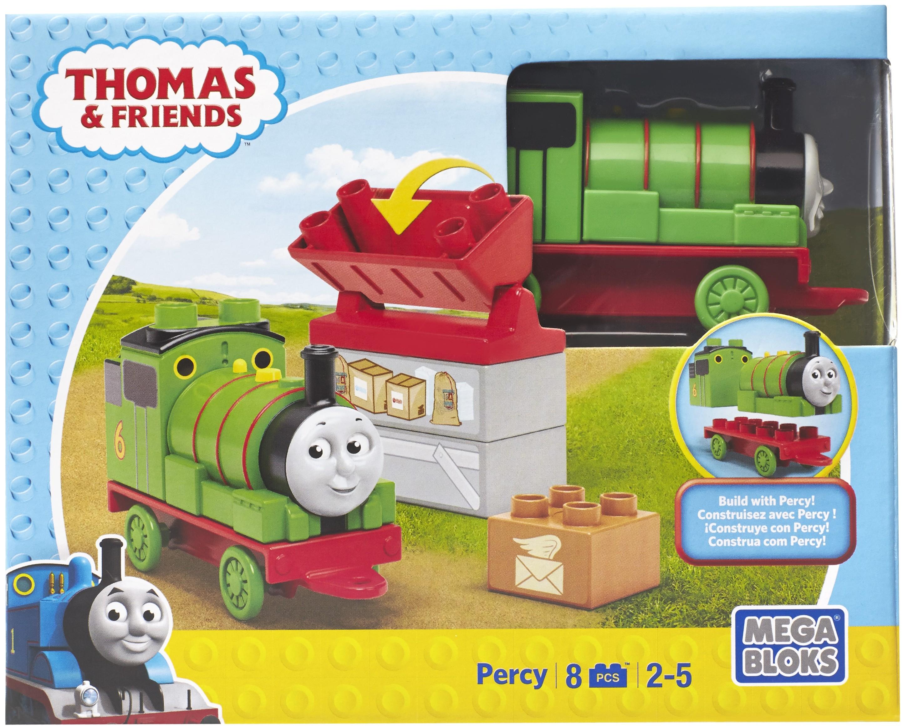 Купить Машинки для малышей, Томас и его друзья Друзья-паровозики, Mega Bloks, Китай, в ассортименте, Мужской