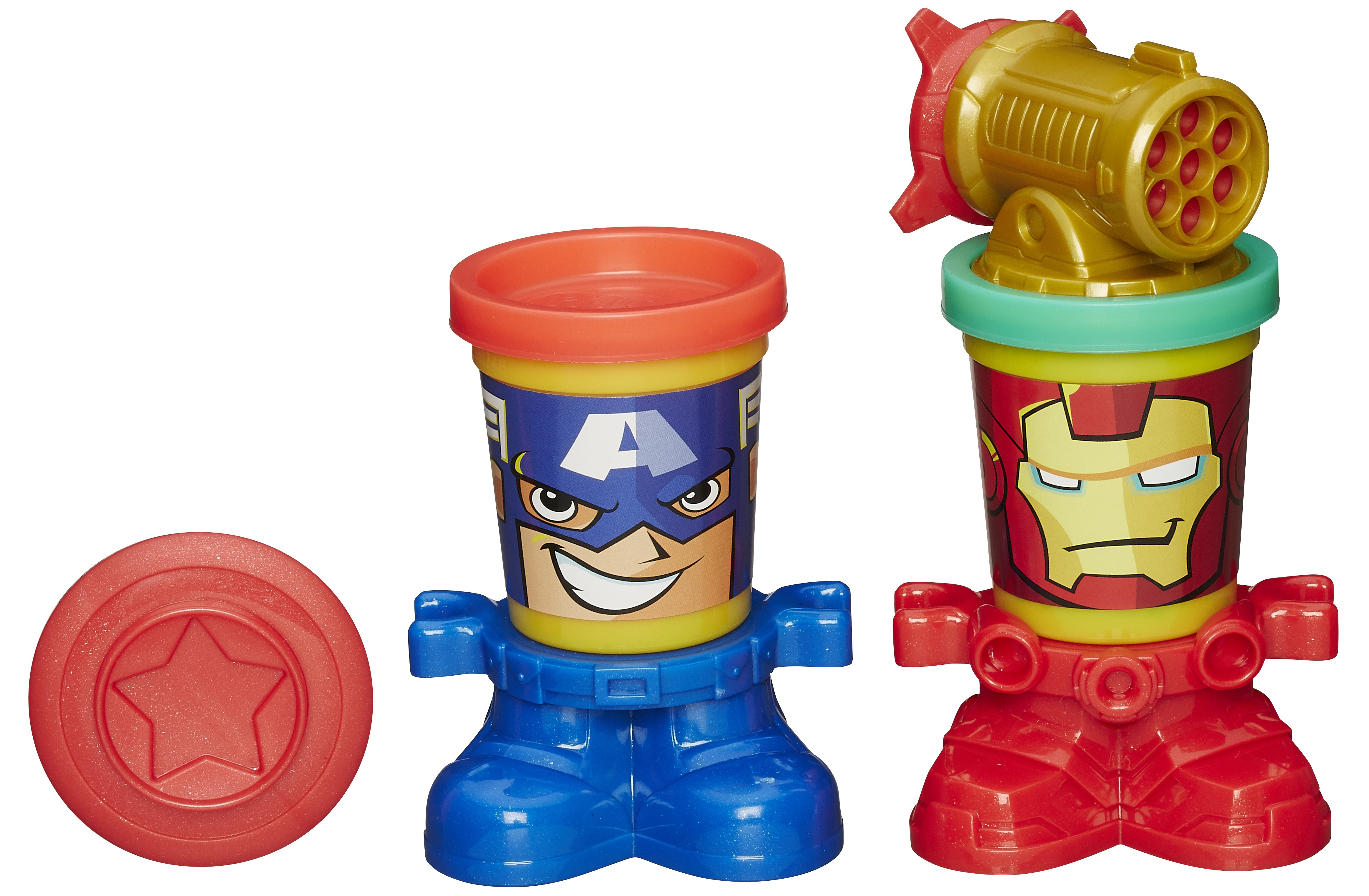 Play-Doh Play-Doh Игровой набор Play-Doh «Герои Марвелл» в асс. капитан америка удивительный человек паук 2 железный человек перчатки мультфильм детей игрушки передатчик