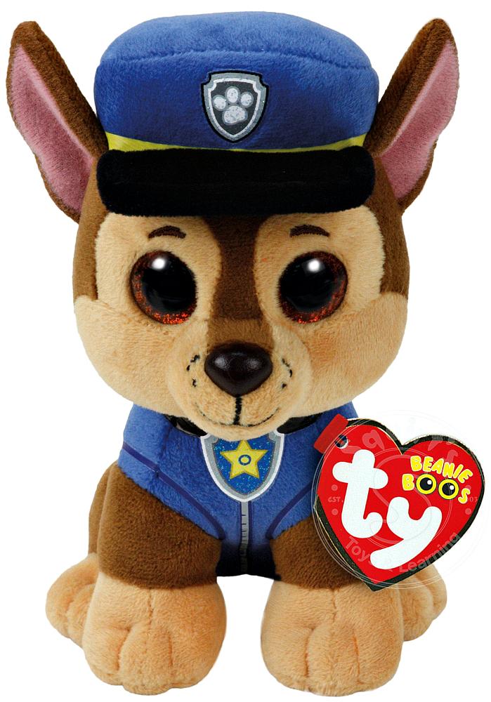 Купить Мягкая игрушка, Собака Shepard, 15 см., 1шт., TY 41208, Китай, разноцветный