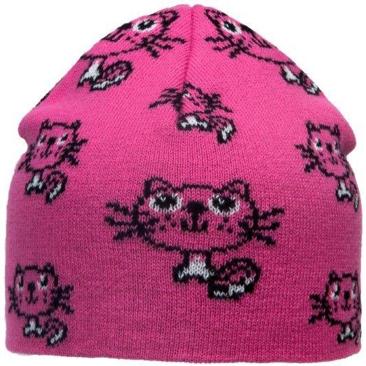 Шапка детская для девочки Barkito Розовая