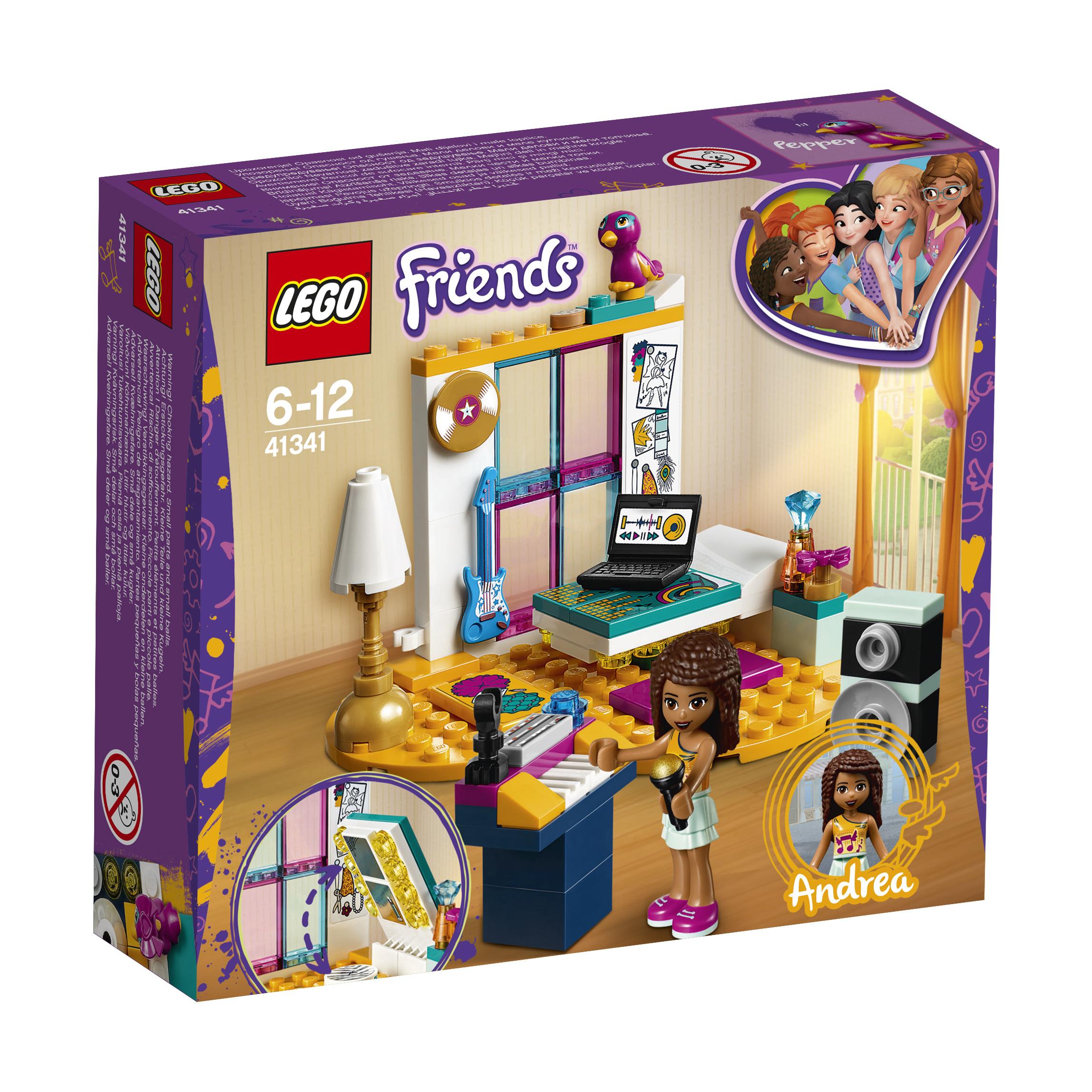 LEGO LEGO Конструктор LEGO Friends 41341 Комната Андреа конструктор lego friends огород 561507
