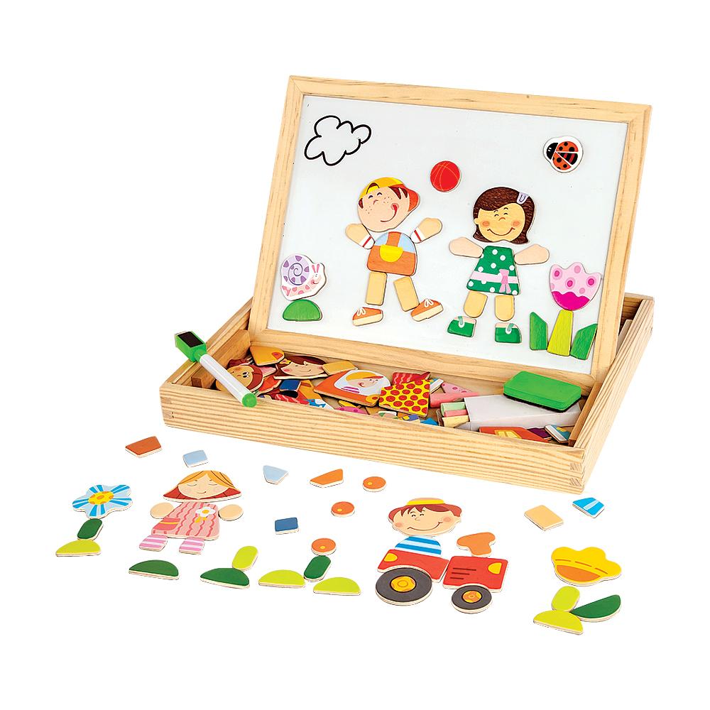 Деревянные игрушки Mapacha Друзья 76643 деревянные игрушки mapacha лабиринт маленький