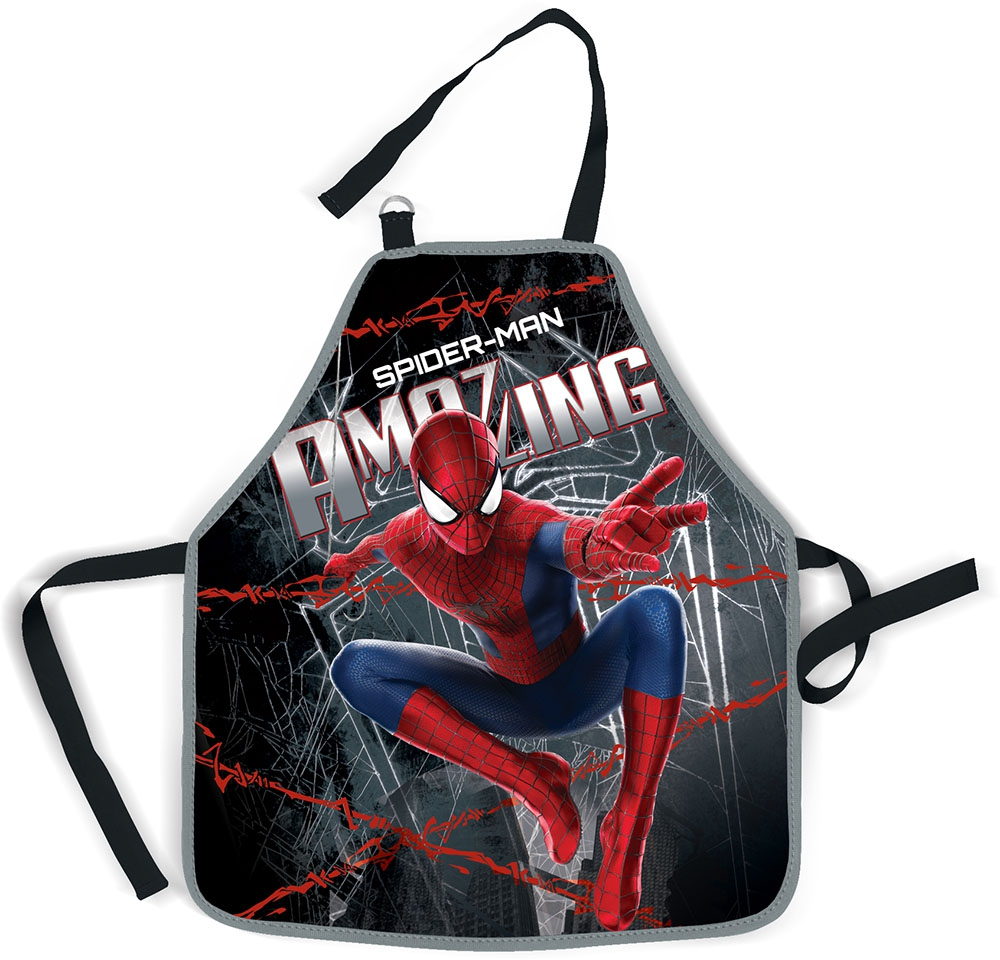 Канцелярия Spider-man Фартук Spider-Man папка портфель spider man