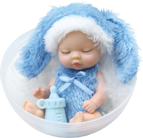 Другие куклы Junfa Toys Ltd Кукла в шаре Junfa Toys «Зайчики» в асс. junfa игрушка антистресс junfa бутылочка молока 10 см