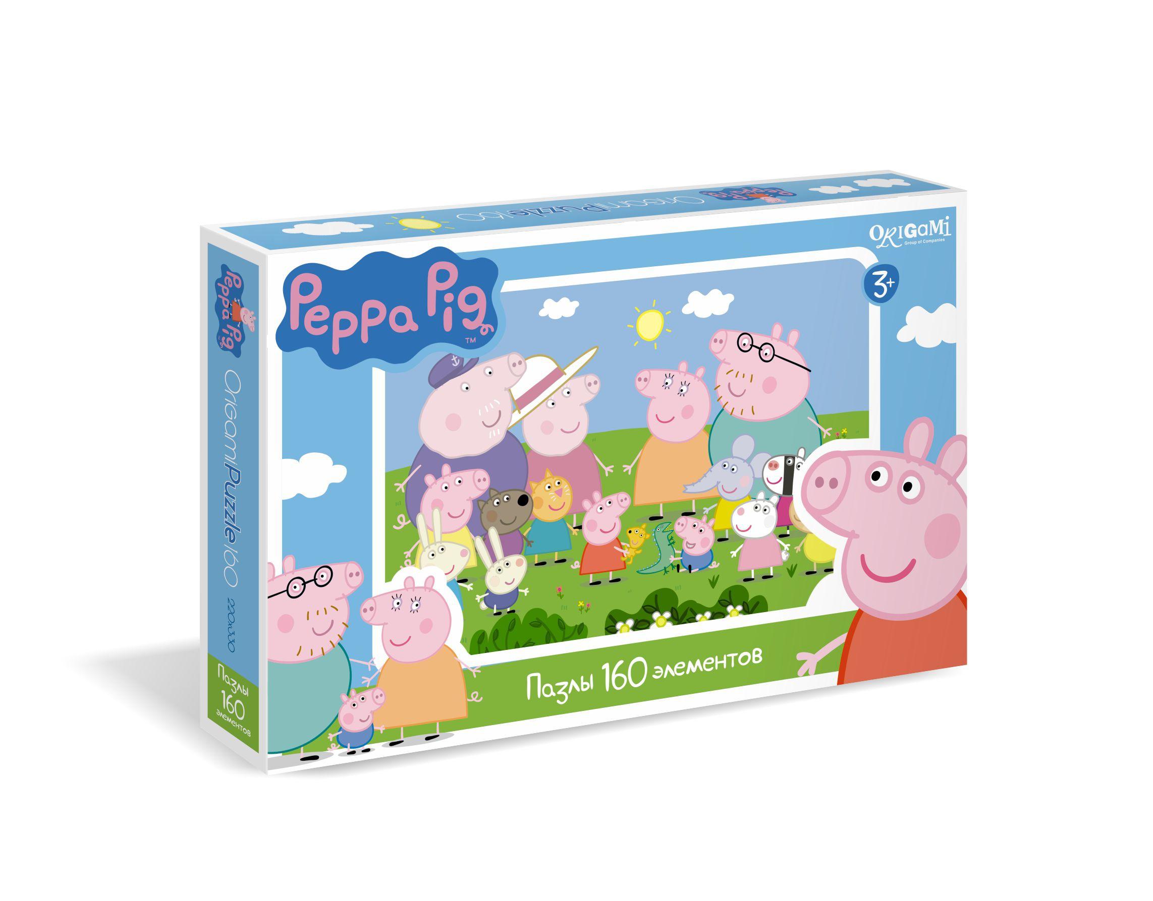 Peppa Pig Peppa Pig Семья Пеппы и ее друзья майка борцовка print bar семья свинки пеппы