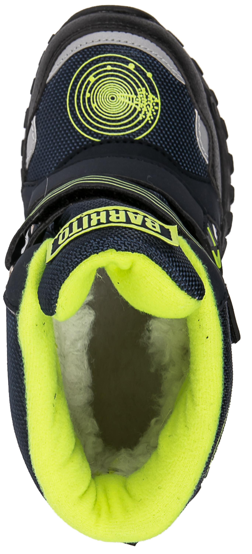 Ботинки и полуботинки Barkito Ботинки дошкольные, школьные для мальчика Barkito, синие цены онлайн