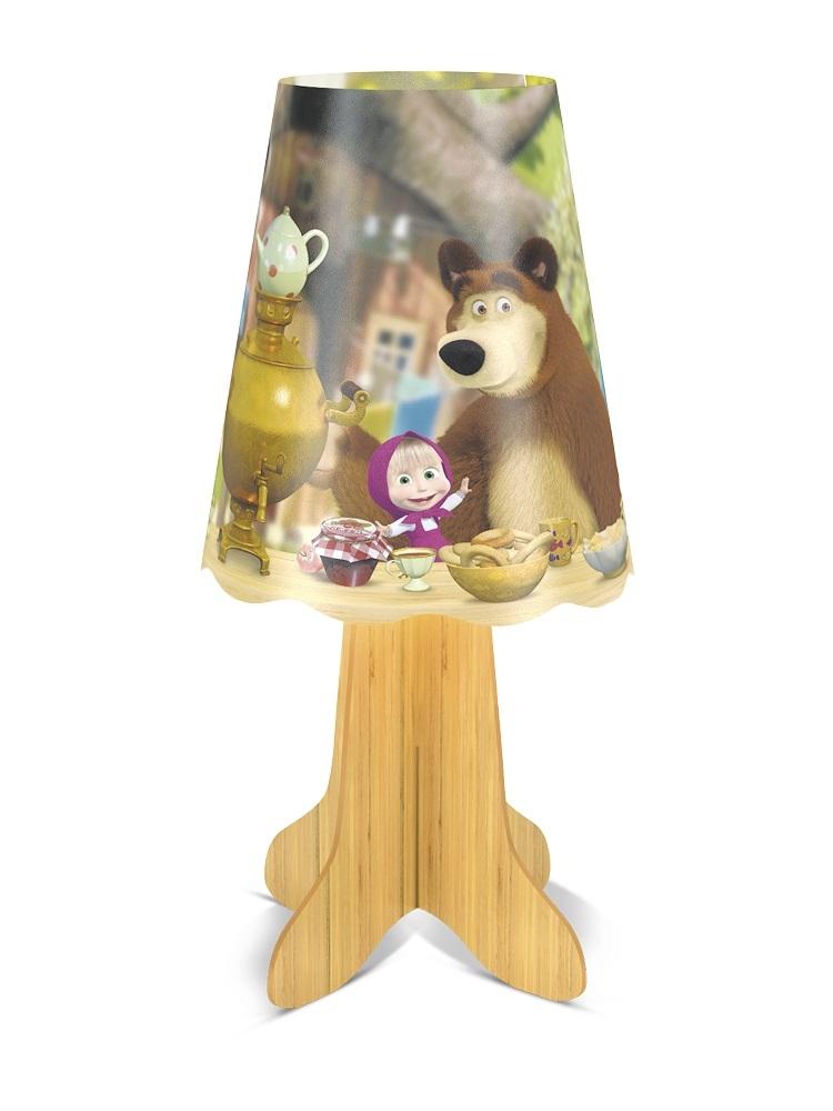 Ночник Фотон Фотон «Маша и Медведь. Чаепитие» DNM-06 настольный ночник декоративный маша и медведь маша и чтение