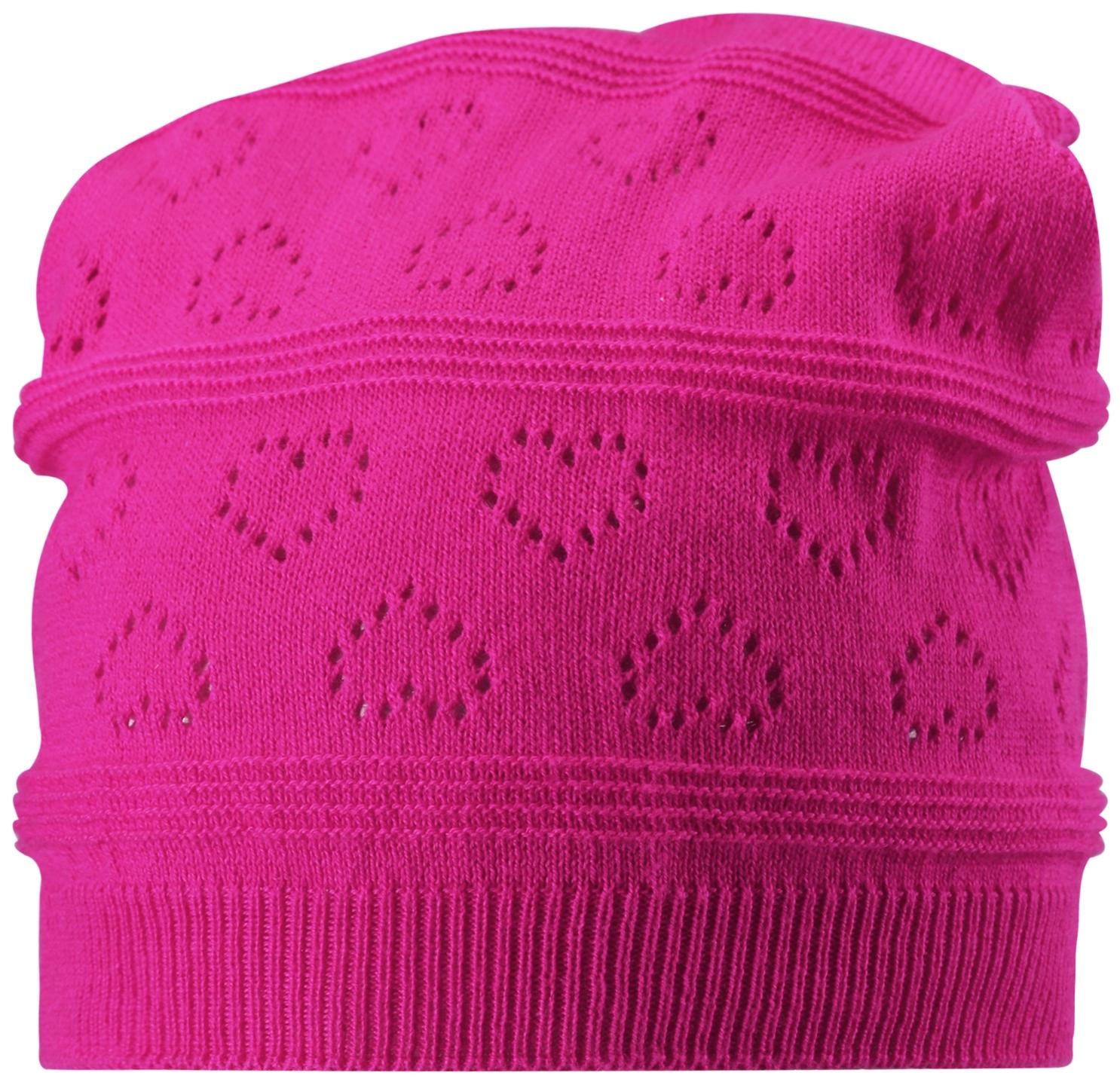 Головные уборы Reima Pumice розовый головные уборы reima aqueous розовый