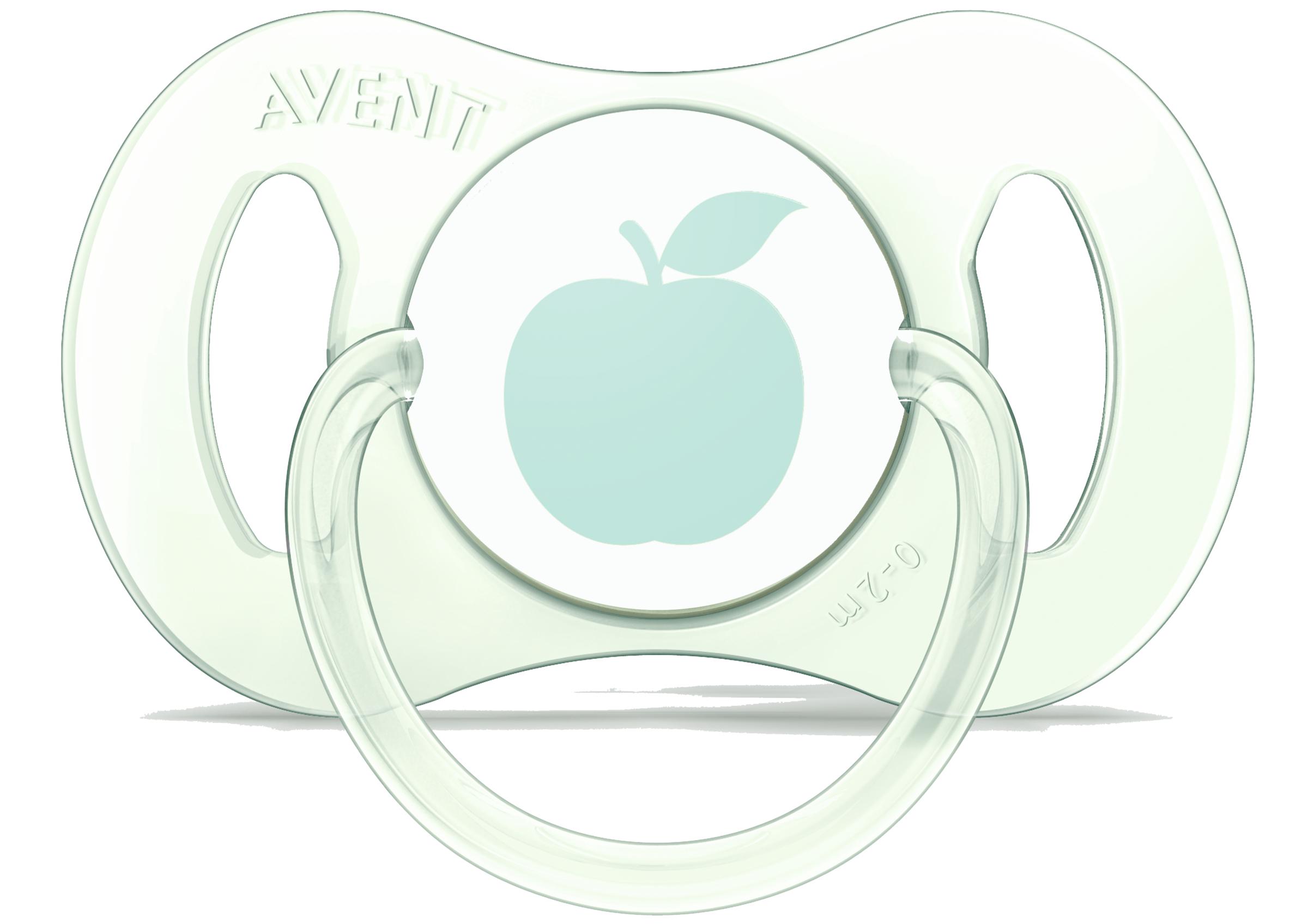 Пустышки Philips AVENT Mini силиконовая, ортодонтическая 0-2 мес.