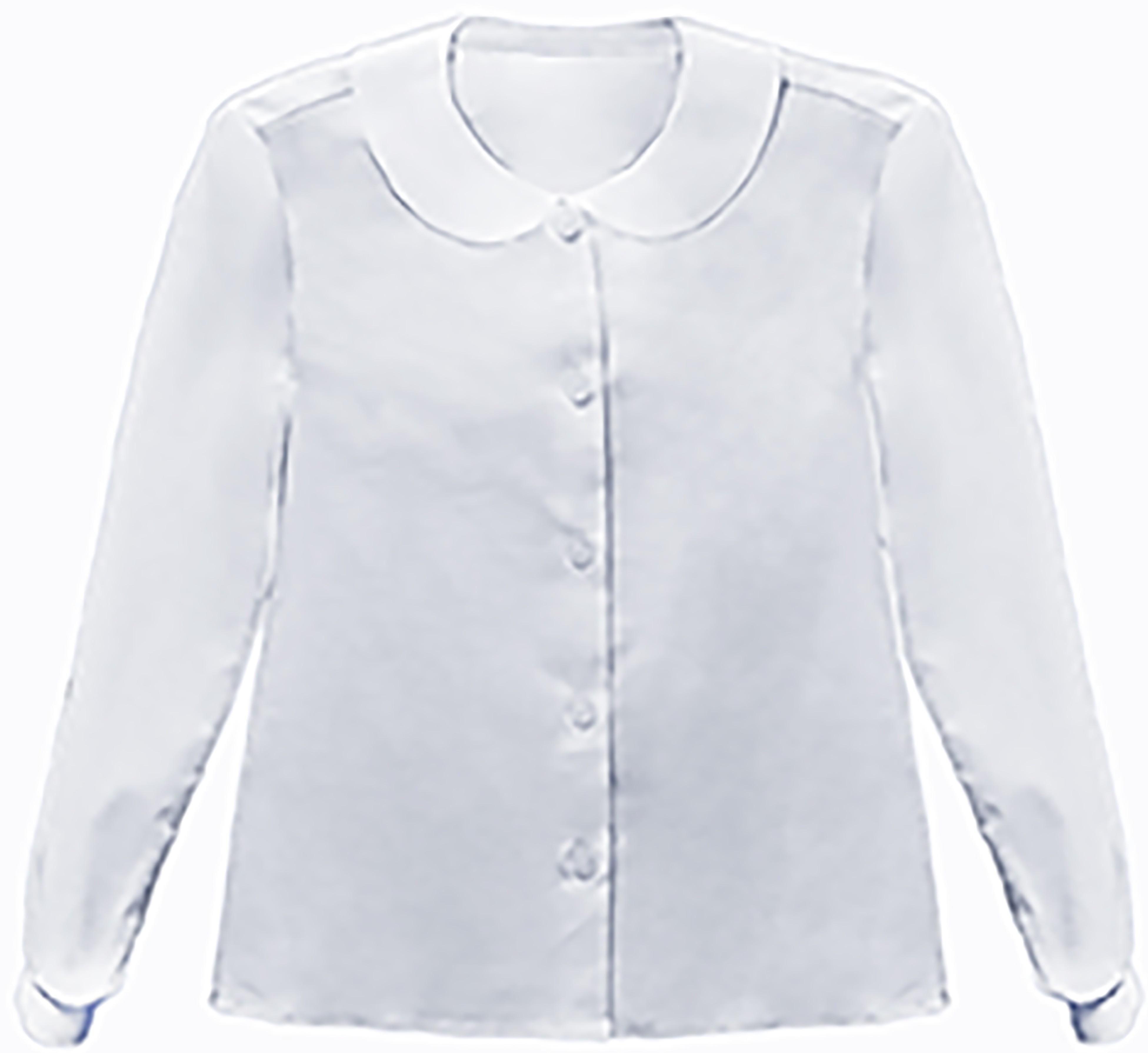 Форма для девочек Смена Блуза для девочки Смена, белая