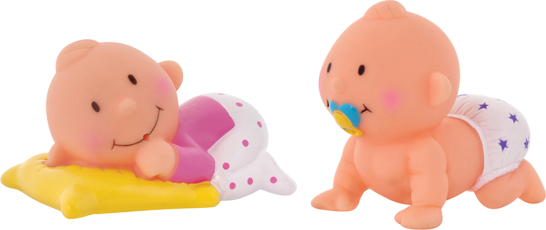 Детские игрушки для ванной Курносики Баю-Бай курносики набор игрушек брызгалок для ванны баю бай