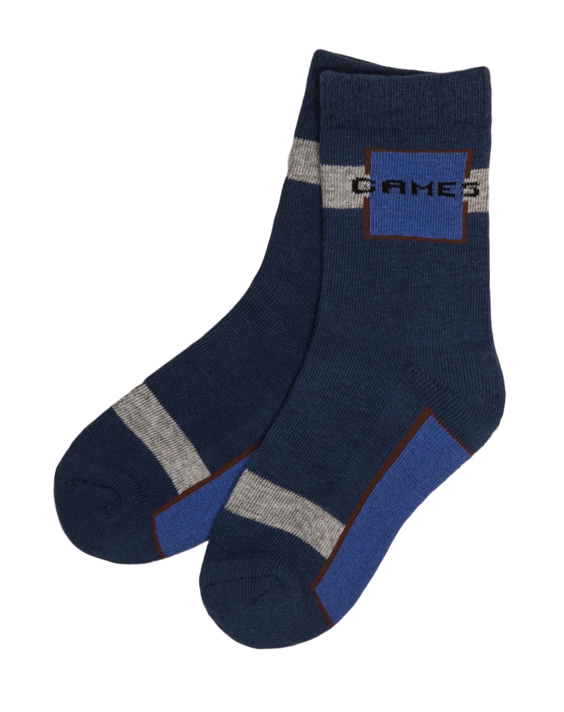 Купить Носки для мальчика, синие, 1шт., Barkito W18B4003T(2), Китай, blue, Мужской
