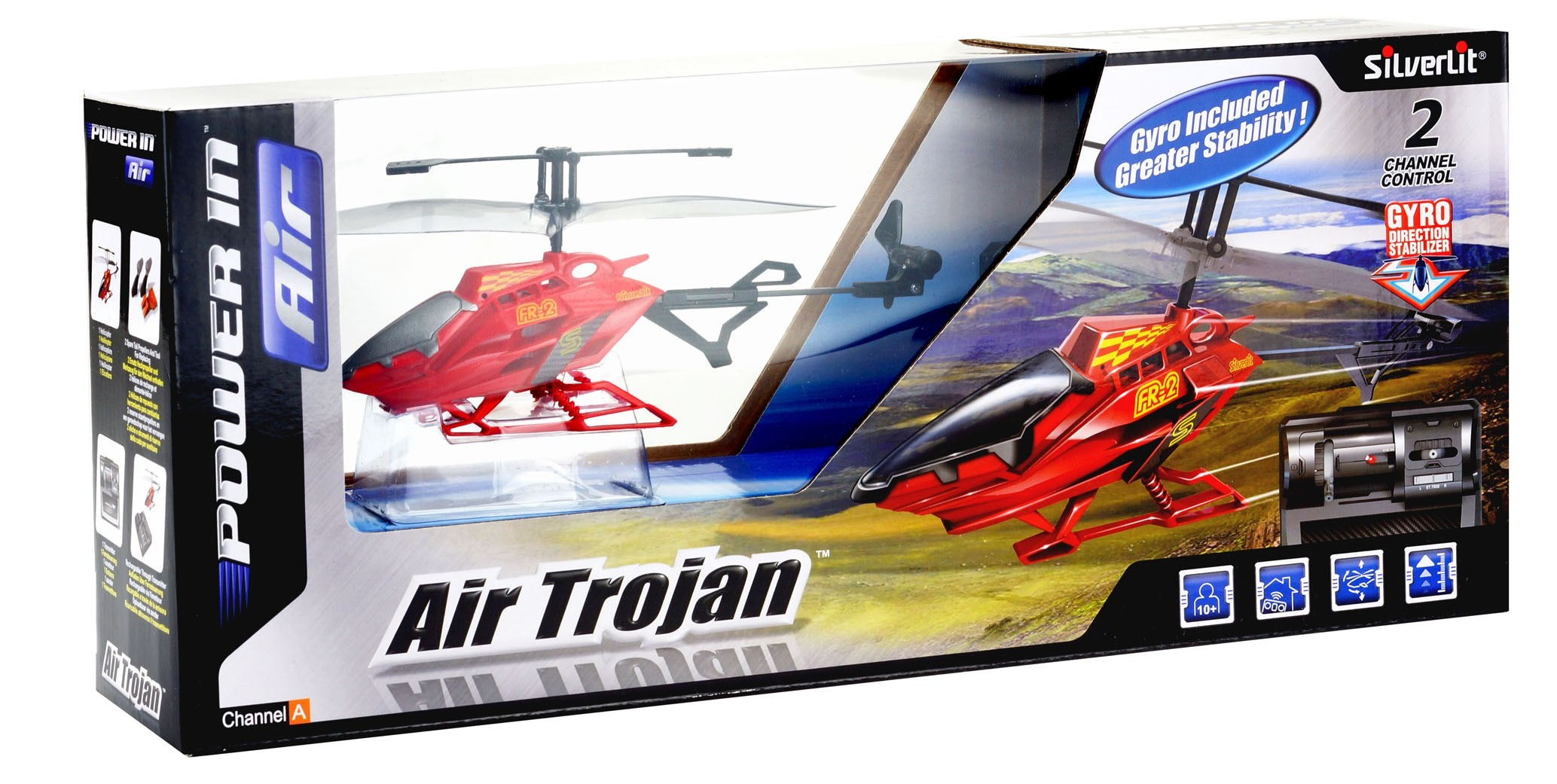 Самолеты и вертолеты Silverlit Air Trojan 2-х канальный