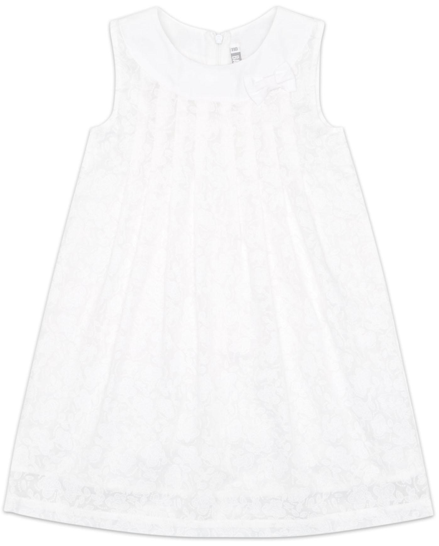 Платья Barkito Платье для девочки Barkito, Цветочный сад, белое детские платья и сарафаны coccodrillo платье для девочки penguin