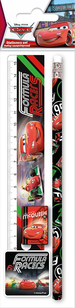 Пеналы и наборы Cars Набор канцелярский Disney Cars 4 пр. набор канцелярский disney cars 7 пр