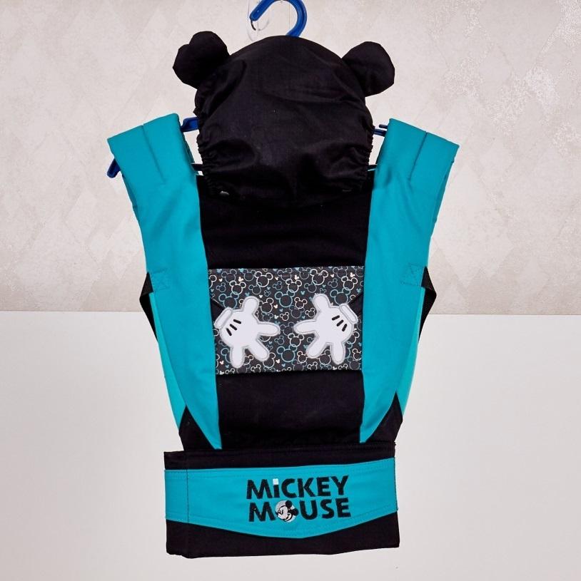 Купить Слинги и рюкзаки, Disney baby. Микки Маус, Polini, Россия, синий с черным