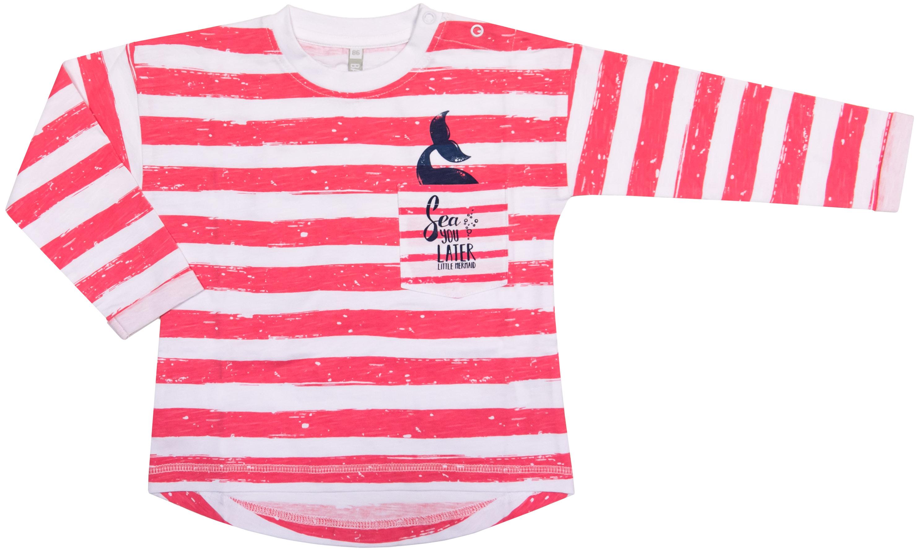 Футболка Barkito Морская принцесса 907004 X420 75 блузка детская barkito морская принцесса голубая