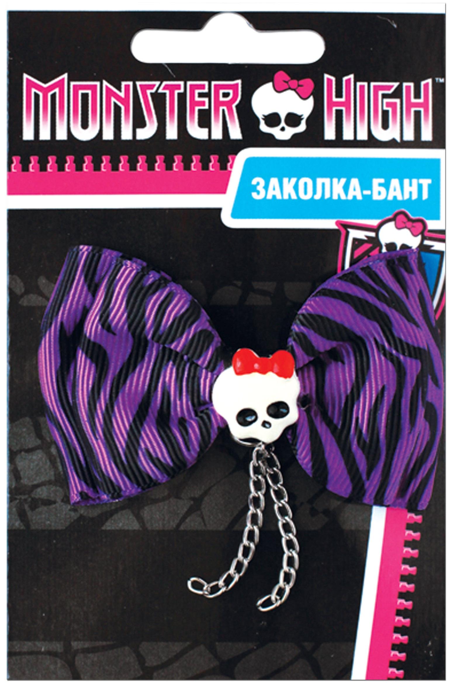 Украшения Monster High Заколка-бант для волос Monster high. Clawdeen Wolf крабы olere заколка