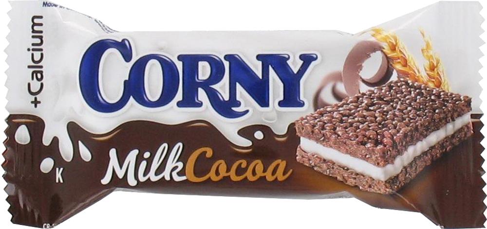 Десерты Corny Schwartau Corny Milk злаковый с молоком и какао 30 г печенье corny злаковый батончик молочный с какао 30 г