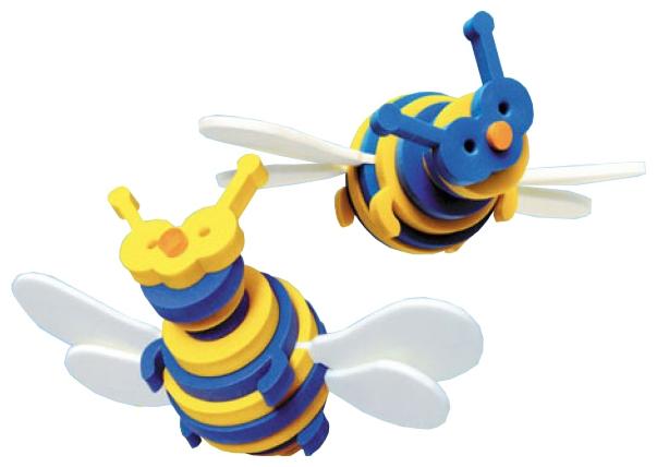 Купить Конструкторы для малышей, Тедико Флексика 45487 Пчелка, Россия