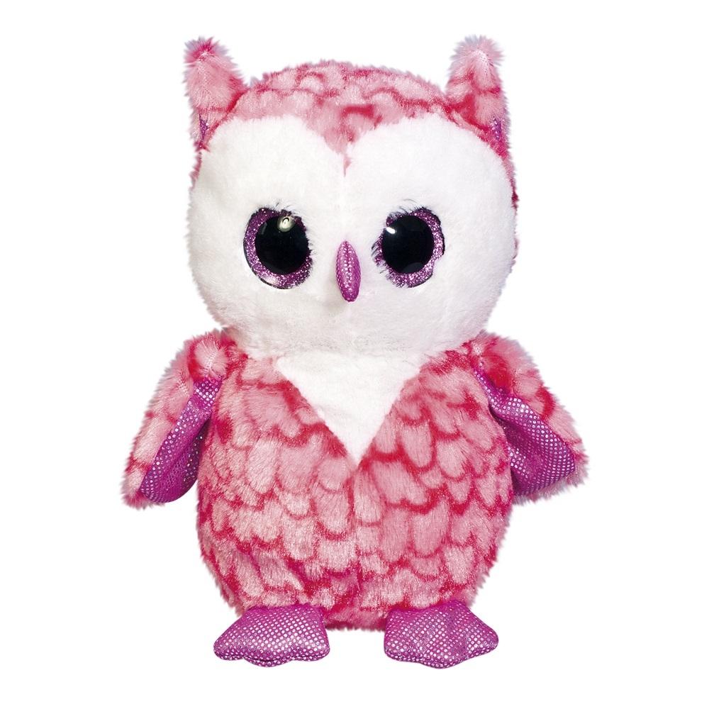 Мягкие игрушки Fancy Мягкая игрушка Fancy «Глазастик Сова» 22 см мягкая игрушка развивающая k s kids часы сова