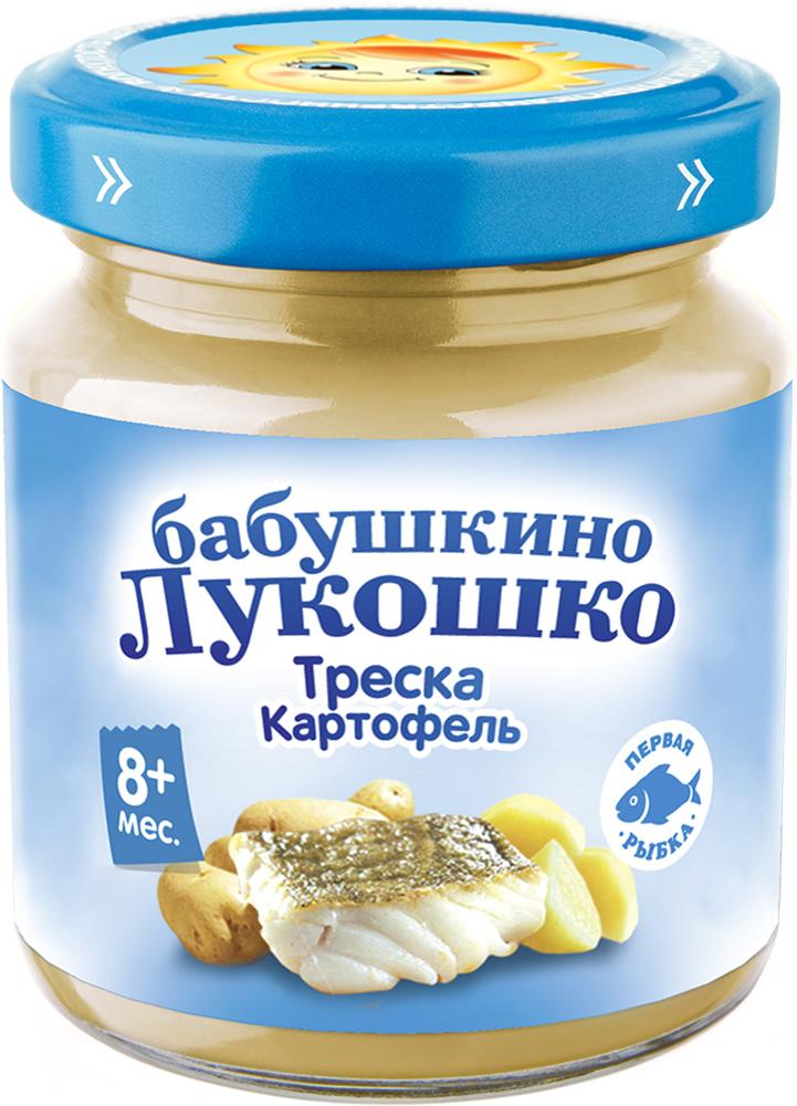 Рыбное Бабушкино лукошко Бабушкино Лукошко Треска-картофель (с 8 месяцев) 100 г