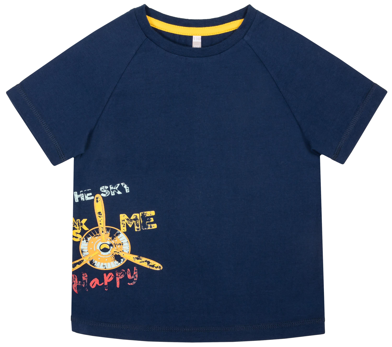 Фото - Футболка с коротким рукавом Barkito Пилот футболки barkito футболка с коротким рукавом для мальчика barkito механика 1 синяя с рисунком в полоску