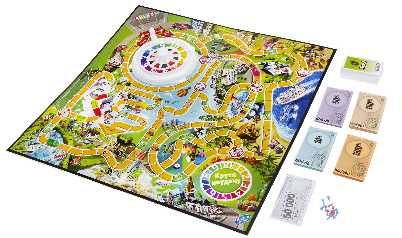Развлекательные игры OTHER GAMES Настольная игра Hasbro «Игра в жизнь» цена