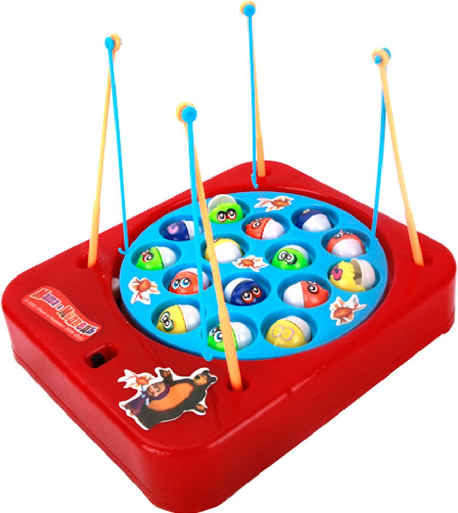 Настольная игра Играем вместе Музыкальная рыбалка