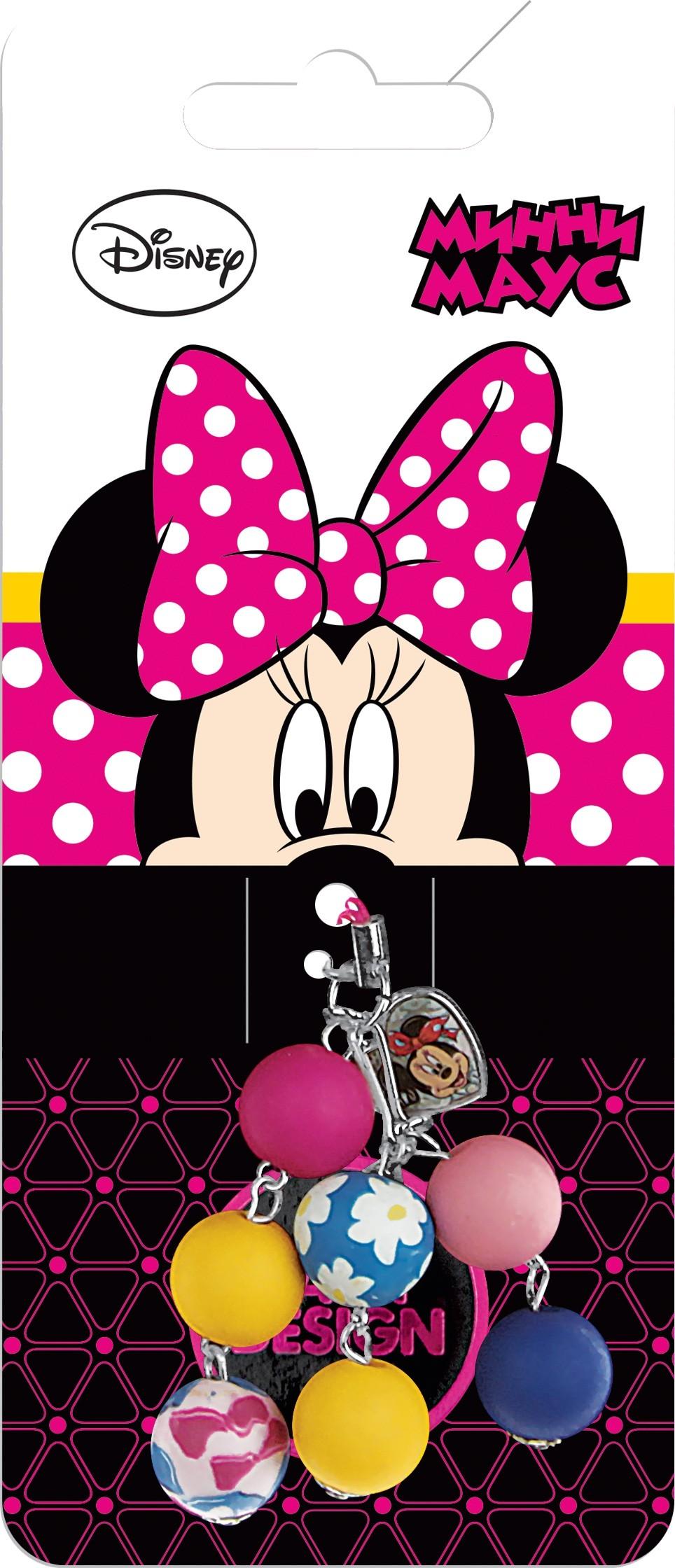 Украшения DAISY DESIGN Подвеска для телефона Daisy Design «Сердечко. Минни Маус» стоимость