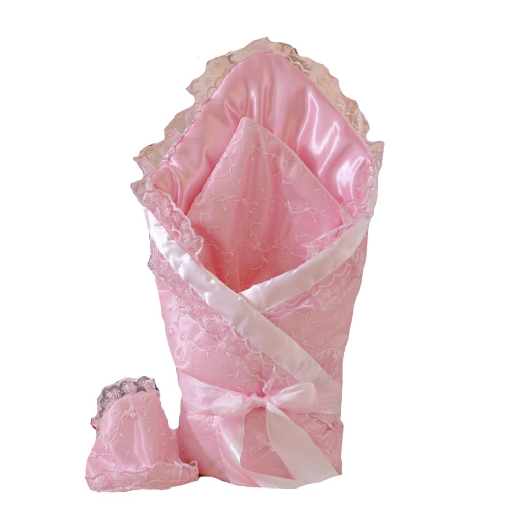 Комплекты на выписку Арго Одеяло на выписку для девочки Арго «Алиса» розовое цена