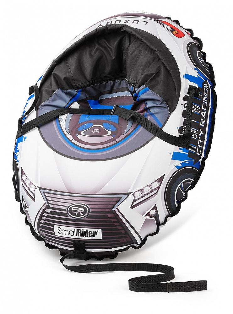 Купить Тюбинг-санки, Snow Cars 3 LX синий, 1шт., Small Rider 1425147, Россия, blue