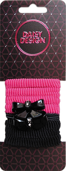 Украшения DAISY DESIGN Резинка для волос Daisy Design «Sweet Hearts. Два бантика» double daisy