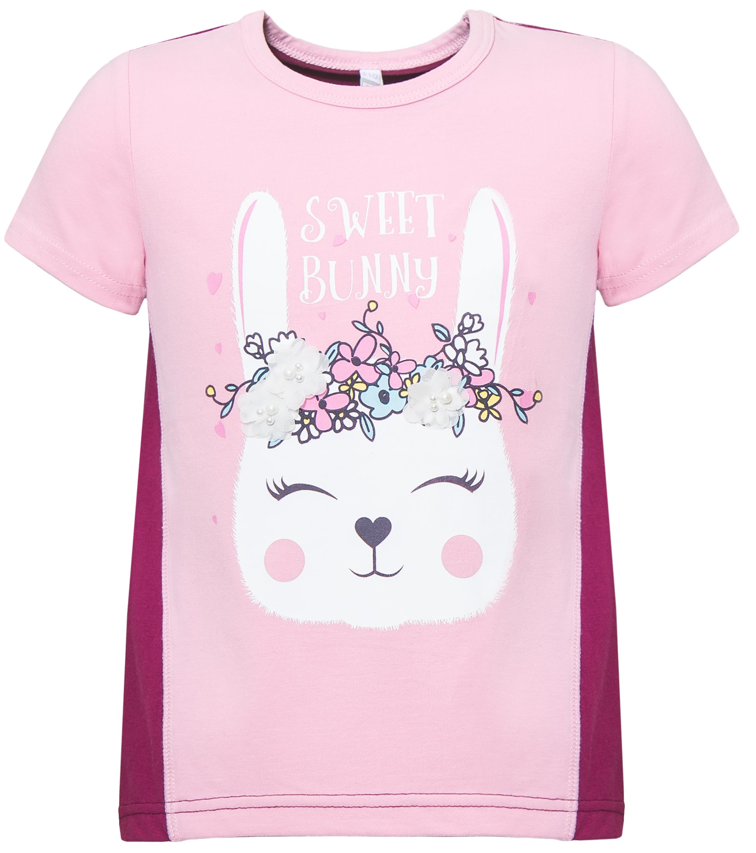 Футболки и топы Barkito Зайка розовая топы и футболки