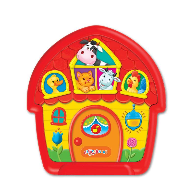 Развивающие игрушки Азбукварик Чудо-домик Тук-тук тук тук чудо домик сказка 5 песенок 10 фраз и звуков isbn 8175970