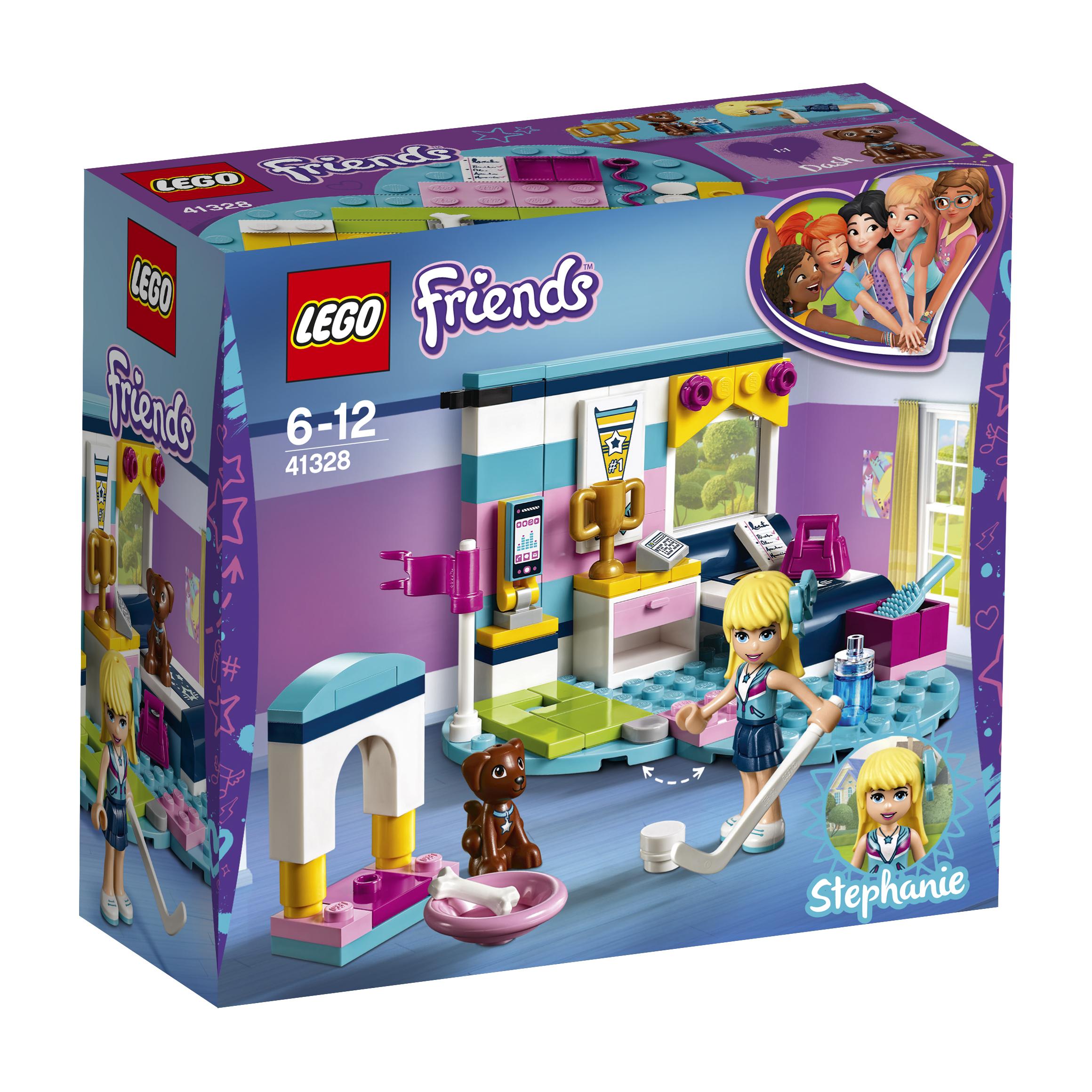 LEGO LEGO Конструктор LEGO Friends 41328 Комната Стефани конструктор lego friends 41314 дом стефани