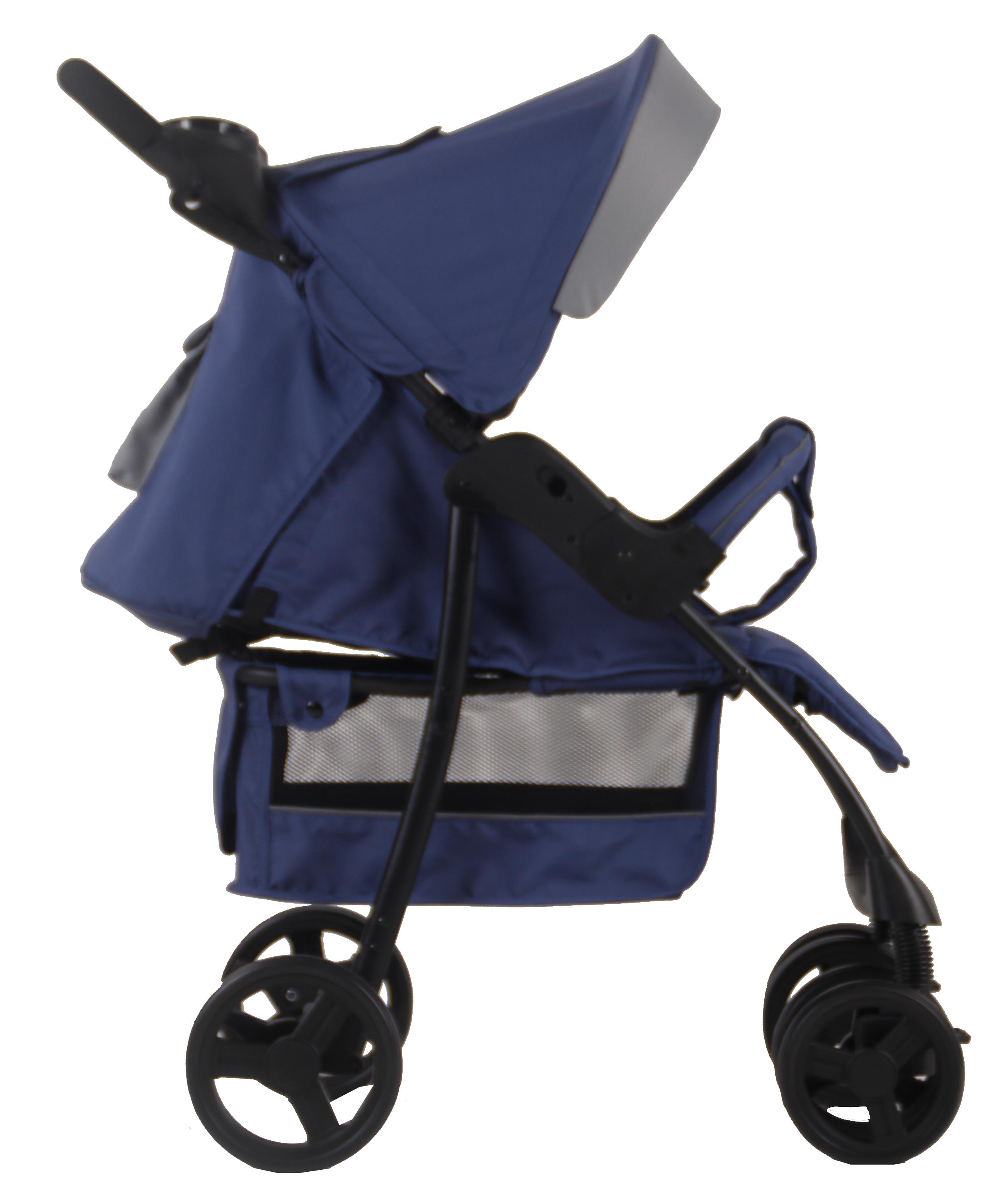 Купить Коляски прогулочные, Коляска прогулочная Parusok «Jogger Pro» синяя, Канада, синий