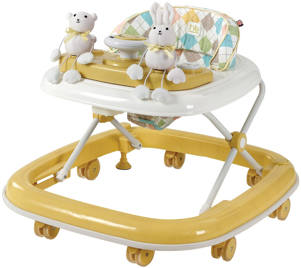 Купить Ходунки Happy Baby Ходунки Happy Baby «Smiley» Yellow, 1Шт.
