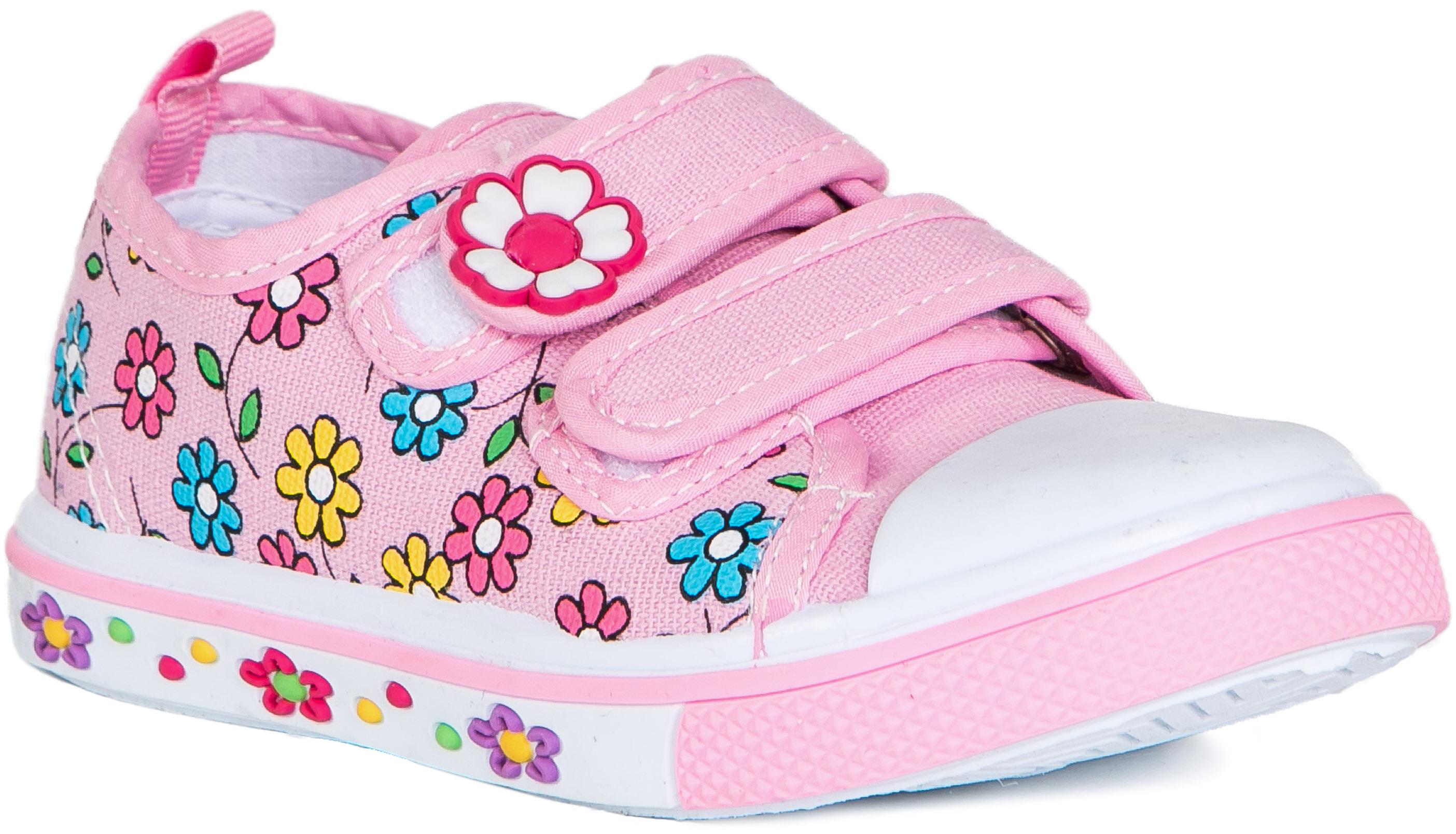 Кроссовки и кеды Barkito Полуботинки типа кроссовых для девочки Barkito, розовый полуботинки типа кроссовых для девочки barkito розовый