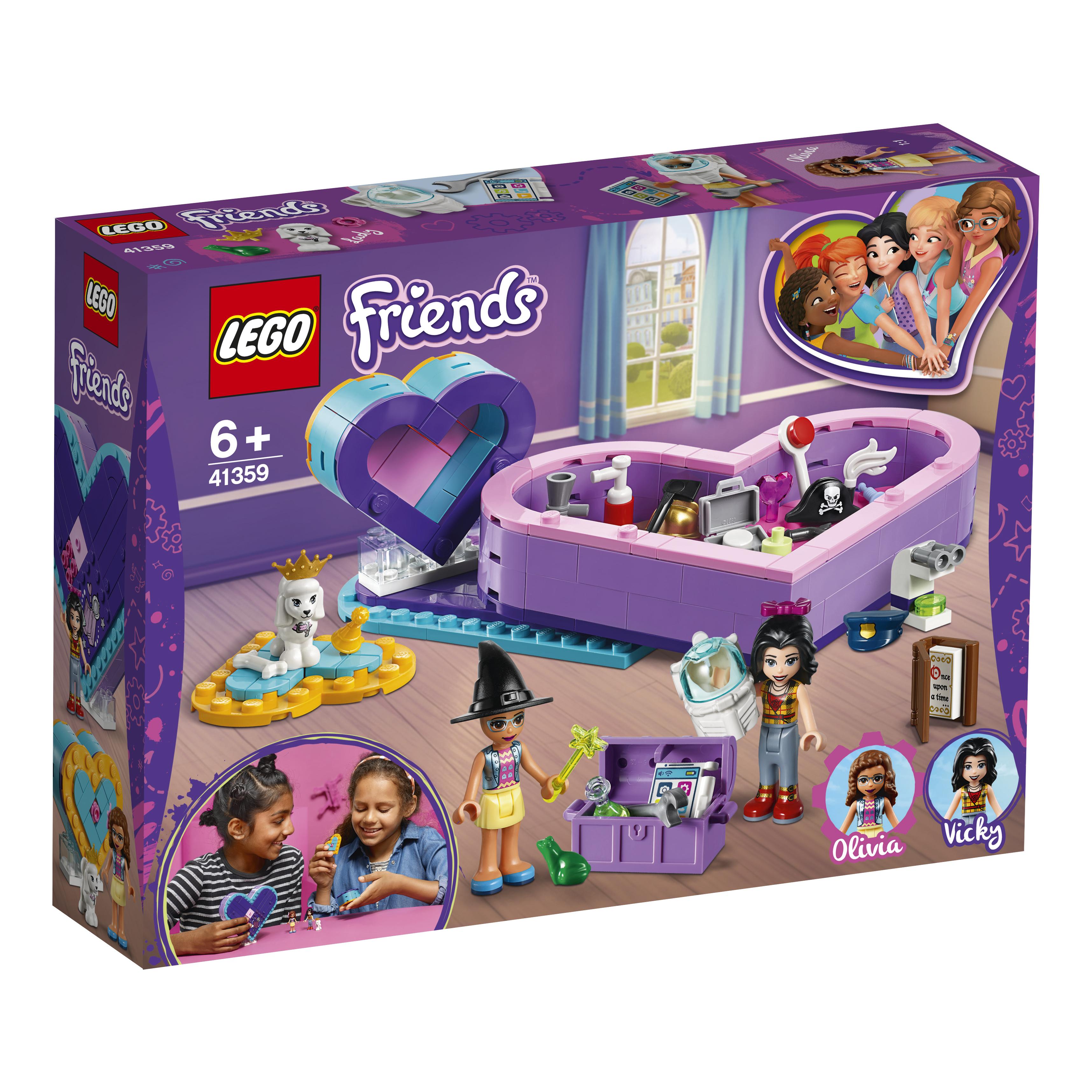 Купить LEGO, Большая шкатулка дружбы, Китай, разноцветный, Женский