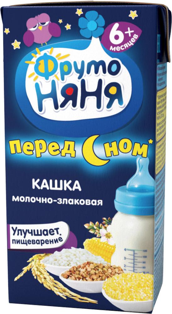 Каши Фрутоняня Каша готовая молочная ФрутоНяня Мультизлаковая с 6 мес. 200 мл каша молочная фрутоняня мультизлаковая с 6 мес 200 г