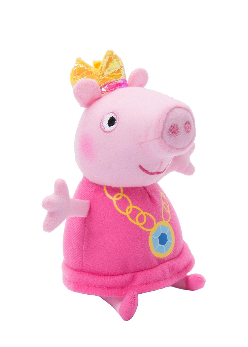 Peppa Pig Пеппа-принцесса 20 см росмэн мягкая игрушка пеппа с виноградом 20 см свинка пеппа