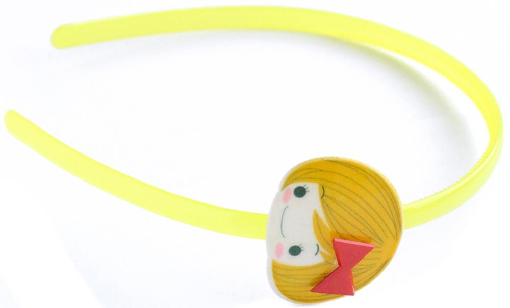Украшения Принчипесса Ободок для волос Принчипесса желтый s'cool ободок