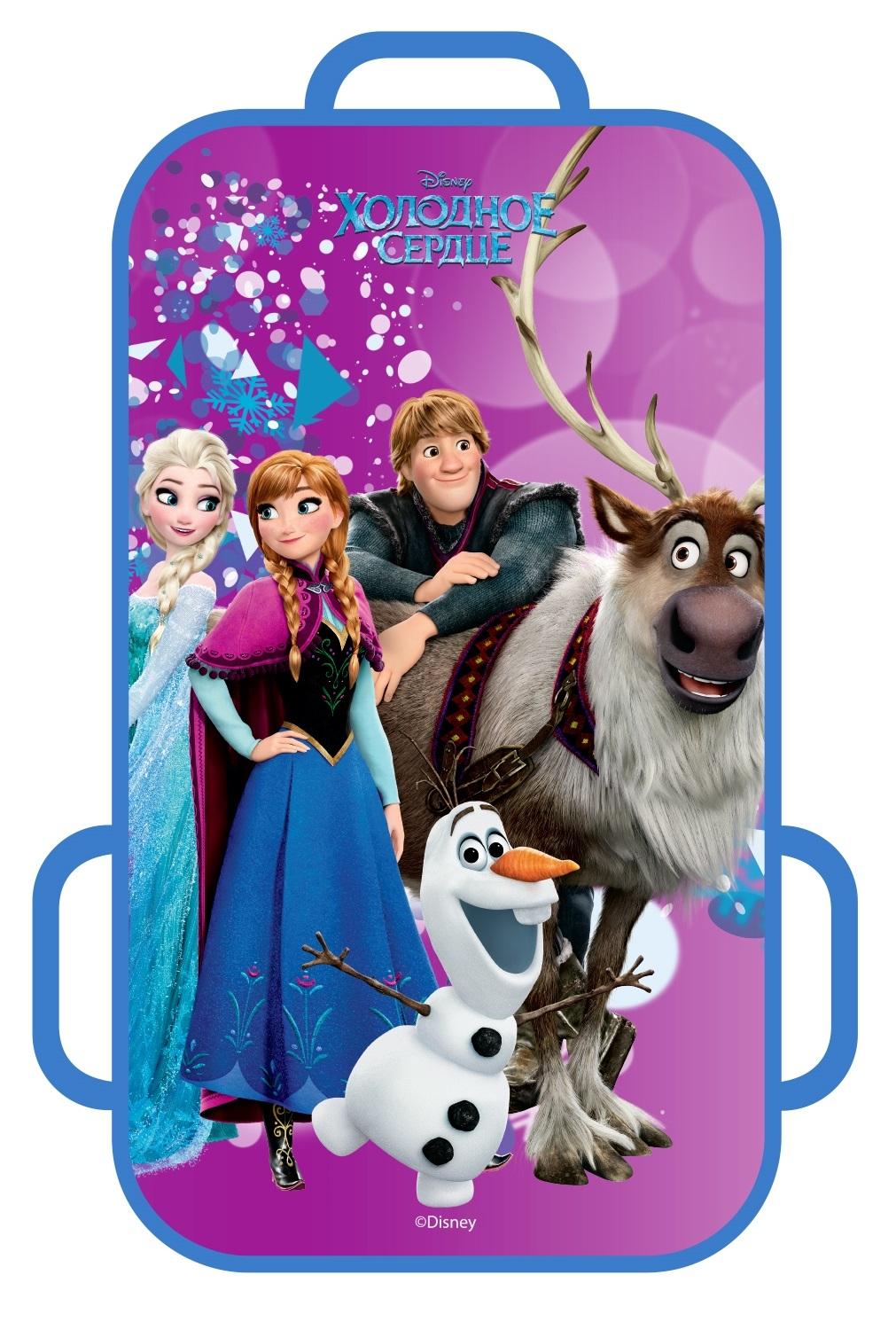 Ледянки Disney Ледянка Disney «Холодное Сердце» прямоугольная 72х41 см 1toy ледянка холодное сердце 92 см