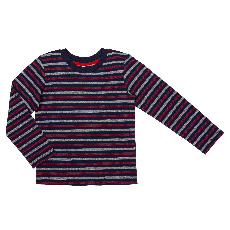 Футболка с длинным рукавом Barkito Корабль 1 футболки barkito футболка с длинным рукавом для мальчика barkito монстр трак темно синяя