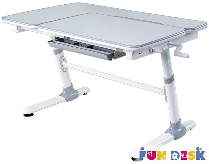 Столы и стулья FunDesk Стол-трансформер FunDesk «Invito» 119x73 см серый