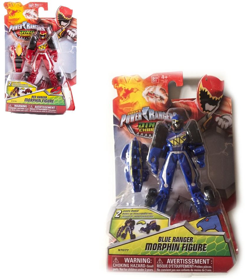 Машинка-трансформер Bandai Dino Charge Power Rangers цена