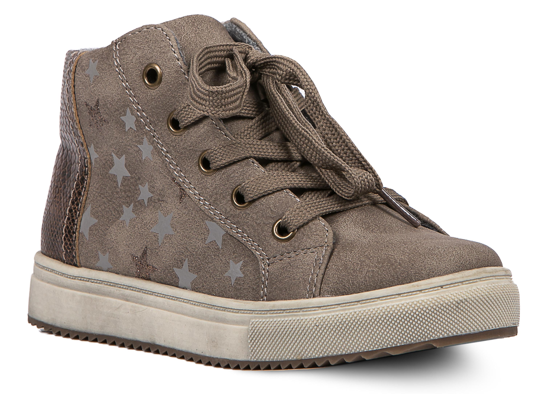 Ботинки и полуботинки Barkito Ботинки для девочки Barkito, коричневые ботинки bellamica bellamica be058awxkb45