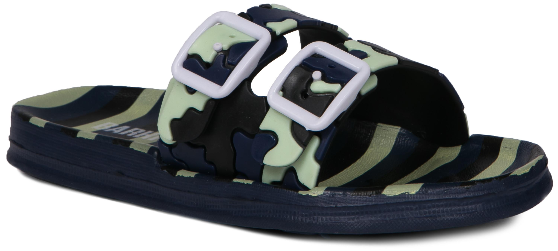 Сланцы (пляжная обувь) Barkito Пантолеты кратковременной носки для мальчика Barkito, сине-зеленые пантолеты типа сабо для кратковременной носки для мальчика barkito синие
