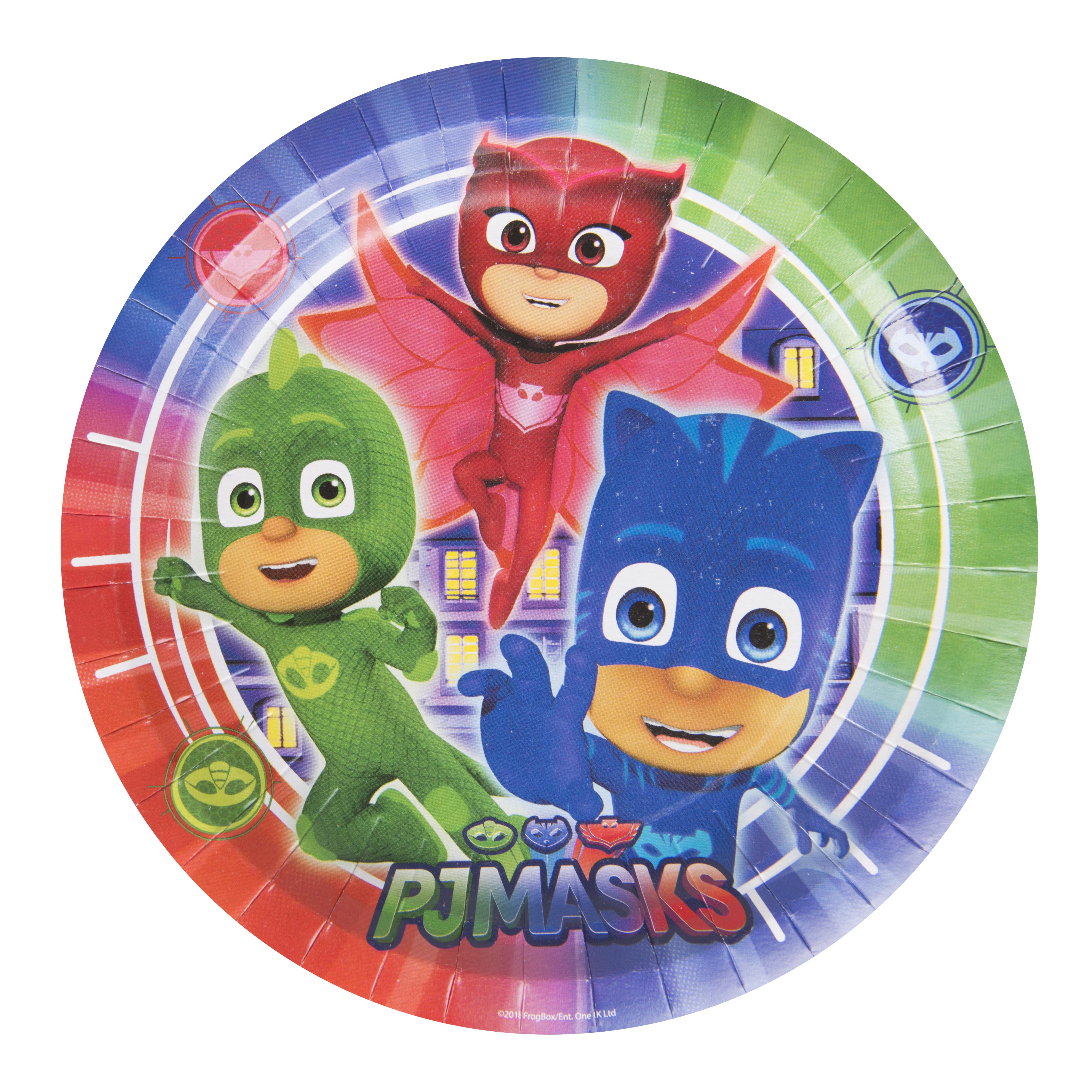 Посуда и скатерти PJ Masks Герои в масках pj masks набор толстых восковых карандашей герои в масках 8 цветов 34062